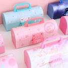 筆盒創意密碼文具盒小學生筆盒網紅多功能學霸鉛筆盒韓國卡通可愛女孩 愛丫 免運