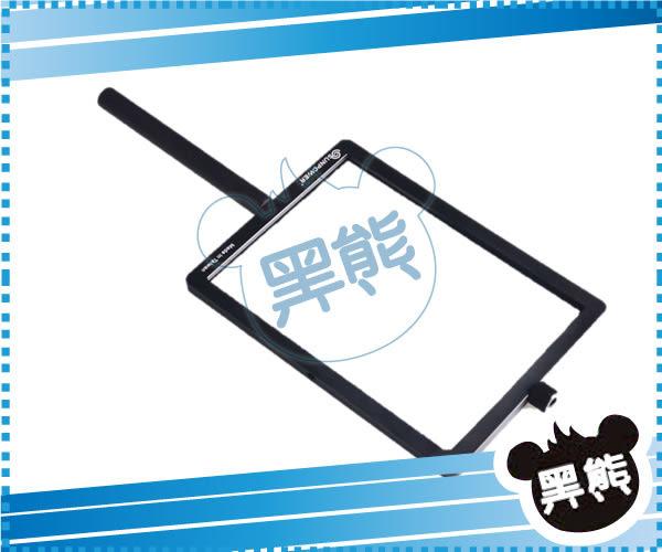 黑熊館 SUNPOWER ND2-12 SOFT 110x160mm 方形漸層鏡 專用手持式框架