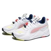 PUMA 休閒鞋 RS- X DECOR8 白藍紅 造型扣 老爹鞋 男 (布魯克林) 38057301
