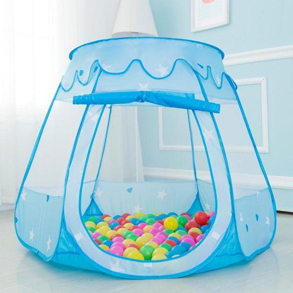 遊戲帳篷帳篷游戲屋室內玩具屋女孩男孩小帳篷寶寶家用幼兒園海洋球池igo 貝兒鞋櫃