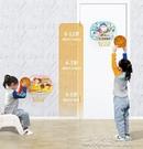 玩具投籃籃框兒童籃球架掛室內戶外筐男家用...