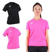 ASICS 女短袖排球練習T恤 (免運 短T T恤 排球 競賽 亞瑟士≡排汗專家≡