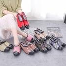 低筒廚房工作雨鞋女水鞋元寶鞋淺口雨靴春夏低筒防滑洗車防滑膠鞋 color shop