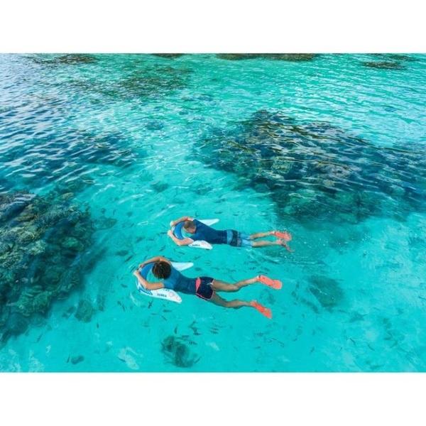 迪卡儂潛水服男水母浮潛衣沖浪防曬游泳上衣泳衣保暖分體衣SUBEA