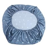 床笠單件席夢思床罩保護套1.2兒童卡通1.5m1.8米薄款棕墊床套純白
