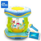 音樂玩具寶寶手拍鼓兒童拍拍鼓可充電早教益智1歲0-6-12個月嬰兒玩具音樂3