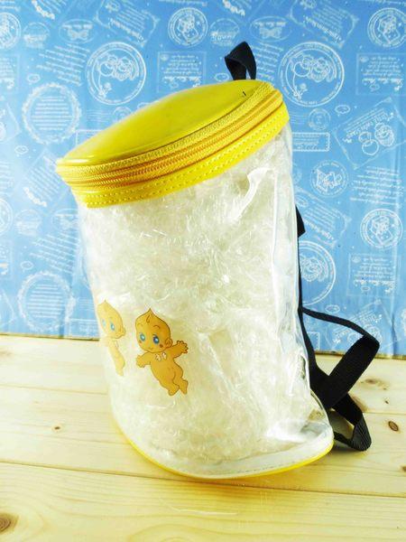 【震撼精品百貨】Q比_Kewpie~透明後背包-黃天使