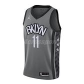 Nike 球衣 Kyrie Irving Nets Statement Edition 2020 Jordan NBA Swingman 灰 白 男款 籃網隊【ACS】 CV9469-008