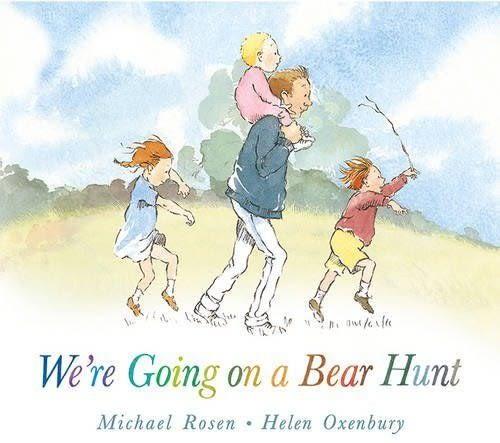 We're Going On A Bear Hunt 我們要去抓狗熊 硬頁故事繪本