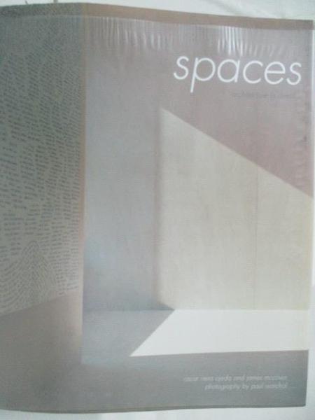 【書寶二手書T1/設計_DO1】SPACES_Architecture in detail