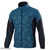 MIZUNO 男裝 外套 立領 休閒 套裝 防潑水 兩側口袋拉鍊 網布內裡 沼綠黑【運動世界】32TC058433