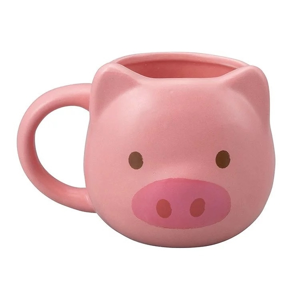 【sunart】日本sunart 馬克杯 -粉紅豬 趣味 送禮 可愛