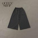 Queen Shop【04110281】女裝 親子系列 經典點點寬褲*現+預*
