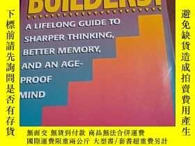 二手書博民逛書店Brain罕見Builders! 英文版 大腦記憶指南Y354