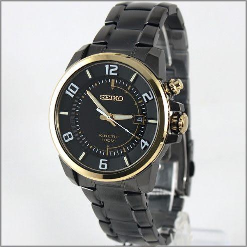 【萬年鐘錶】SEIKO Kinetic 人體動能鋼錶 SKA556P1 (5M62-0CY0K)