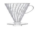 金時代書香咖啡HARIO V60 03 樹脂濾杯 透明 4-6杯 VD-03T