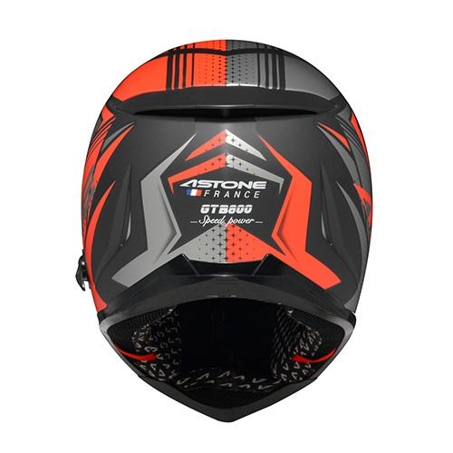 【東門城】ASTONE GTB800 AO11(平光黑/灰紅) 全罩式安全帽