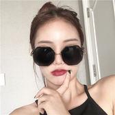 墨鏡女新款多邊形大框韓版潮復古原宿風圓臉顯瘦太陽眼鏡街拍 創想數位