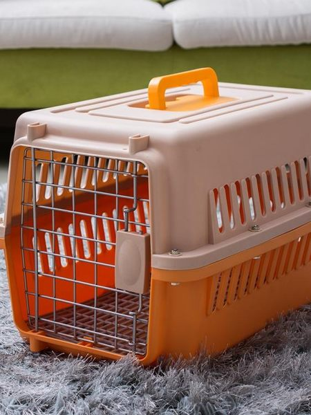 寵物航空箱-寵物航空箱狗狗貓籠子便攜外出外出箱空運托運箱旅行箱車載狗籠子  花間公主