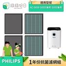 綠綠好日 抗菌 濾芯 蜂巢顆粒 濾網 適 Philips 飛利浦 AC5659 5000 5000i 空氣清淨機