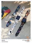 iwatch表帶蘋果手表表帶硅膠運動印花卡通創意個性【橘社小鎮】