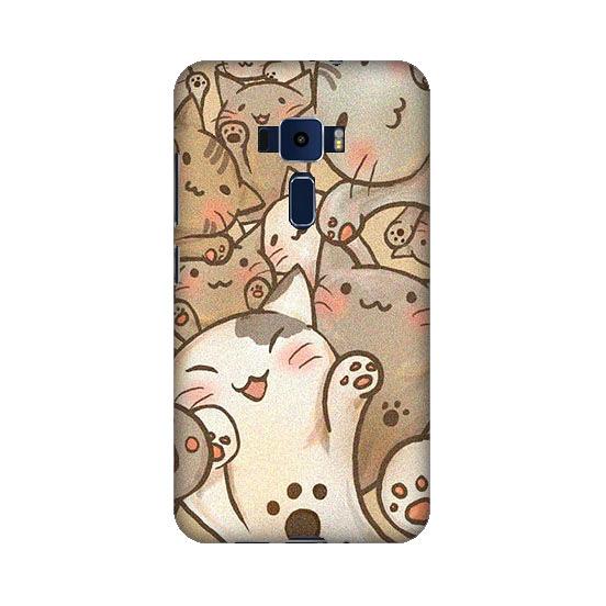 華碩 asus ZenFone3 ZE552KL Z012DA 手機殼 軟殼 保護套 喵喵世界