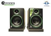 【音響世界】Mackie CR4 四吋50W專業錄音室級監聽喇叭》電腦影音最佳搭檔》贈進口升級線套組
