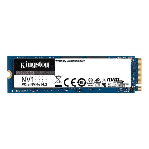 新風尚潮流 【SNVS/500G】 金士頓 500GB M.2 2280 NVMe PCIe SSD 固態硬碟 3年保固