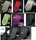 ★草魚妹★k932拉鍊領帶長49寬6cm拉鍊領帶窄領帶窄版領帶 ,售價170元