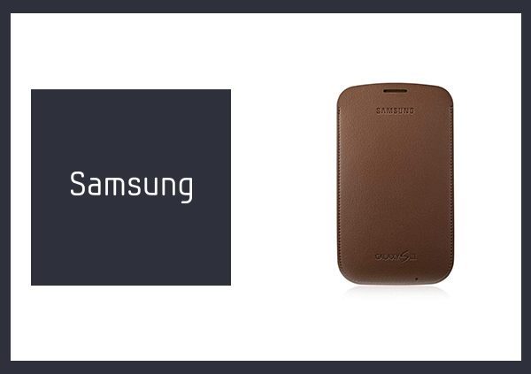 SAMSUNG GALAXY S3 i9300 原廠直入式皮套_棕色 (原廠公司貨-盒裝)
