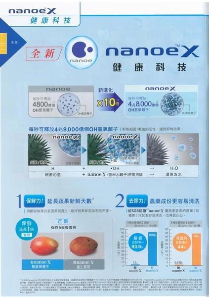NEW  610公升Panasonic 玻璃鏡面三門電冰箱 NR-C619NHGS