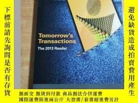 二手書博民逛書店Tomorrow s罕見Transactions The 201