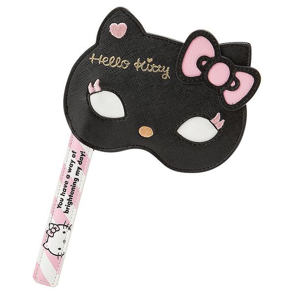 【震撼精品百貨】Hello Kitty 凱蒂貓-凱蒂貓票卡夾-派對裝扮圖案-黑粉