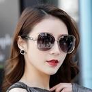新款大框墨鏡女潮圓臉太陽鏡開車防紫外線墨鏡太陽鏡戶外偏光鏡