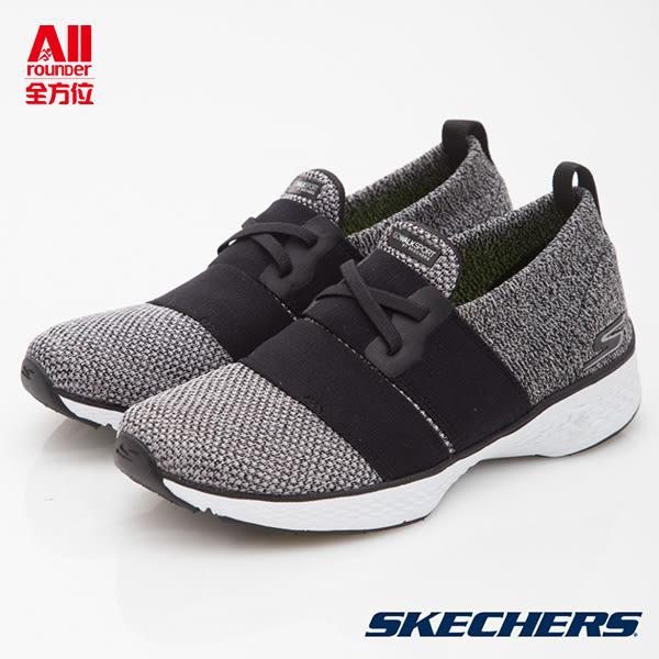客訂品【Skechers思克威爾】女款 健走/跑步/休閒鞋 GO Walk Sport-黑灰(14893BKW)全方位運動戶外館