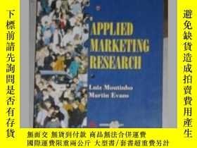 二手書博民逛書店英文原版罕見Applied Marketing Research