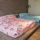床包 / 單人【米奇手牽手-兩色可選】含一件枕套  高密度磨毛布  戀家小舖台灣製ABF101