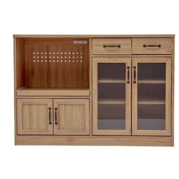 餐櫃 電器櫃 四門三抽 櫥櫃 下櫃【P0019】Alva四門三抽廚房櫃 (兩色) 收納專科