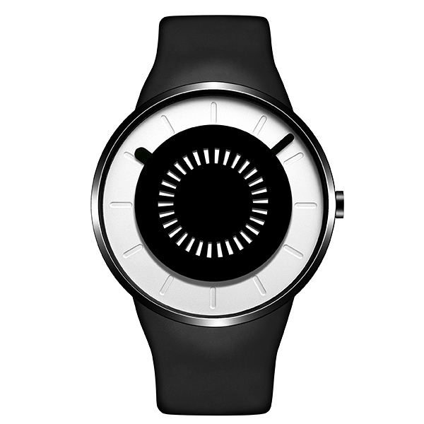 【odm】BOUNCING律動系列節奏閃燈設計腕錶-質感白/DD162-06/台灣總代理公司貨享兩年保固