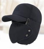 帽子男冬季口罩雷鋒帽