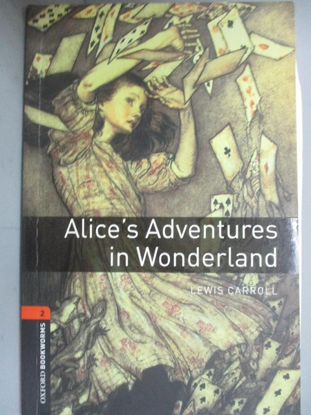 【書寶二手書T1/原文書_NEY】Alice`S Adventures In Wonderland_Carroll, Lewis