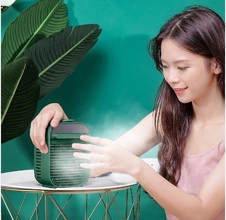 冷風機 小風扇USB小型學生便攜式電風扇迷你冷風機小空調制冷降溫