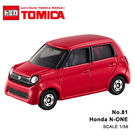 TOMICA No.81 Honda N-ONE 本田 紅色 TM081A 多美小汽車