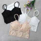 美背內衣  2件裝蕾絲裹胸內衣少女吊帶背心文胸短款性感美背抹胸