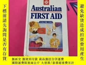 二手書博民逛書店Australian罕見FIRST AID VOLUME ONE
