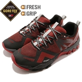 Merrell 戶外鞋 MQM Flex GTX 橘 黑 Gore-Tex 防水 越野 休閒鞋 運動鞋 男鞋【ACS】 ML42557