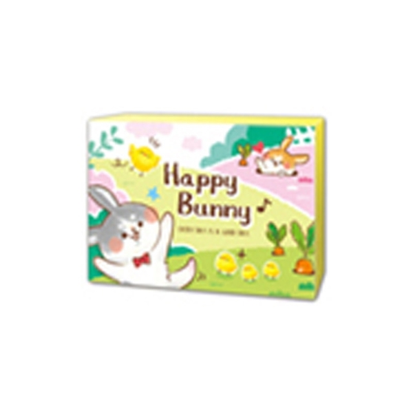 彩色名卡-園兔