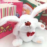 抖音同款玩具瘋狂搖擺兔大腳兔兒童安撫逗樂毛絨娃娃公仔送禮物