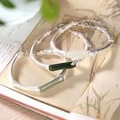 手鐲 手鐲女925鍍銀鑲天然玉銀鐲子鍊子鎏金工藝古風飾品禮物