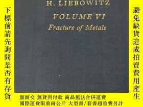 二手書博民逛書店FRACTURE罕見An Adbanced Treatise(斷